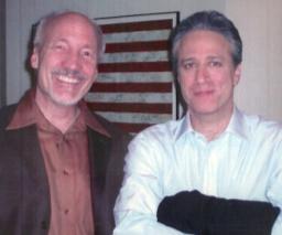 Ed Boks and Jon Stewart