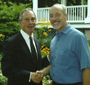 Ed Boks and Mayor Bloomberg
