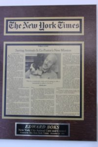 Ed Boks and the New York Times