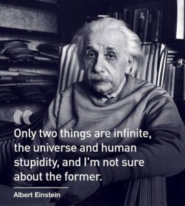 Ed Boks and Albert Einstein