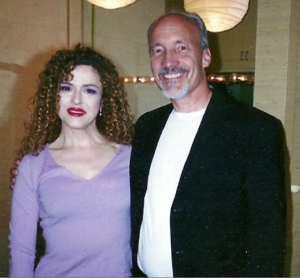 Ed Boks and Bernadette Peters