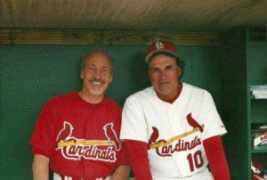 Ed Boks and Tony La Russa
