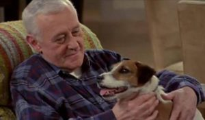 Ed Boks and John Mahoney